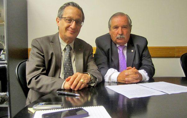 Unidos. Borger (Amia) y Schlosser (Daia) pidieron no desandar el camino trazado por la Justicia argentina e Interpol.
