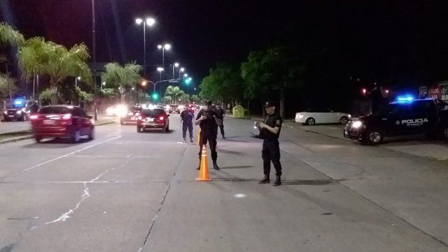Operativo antipicadas anoche en el parque Scalabrini Ortiz