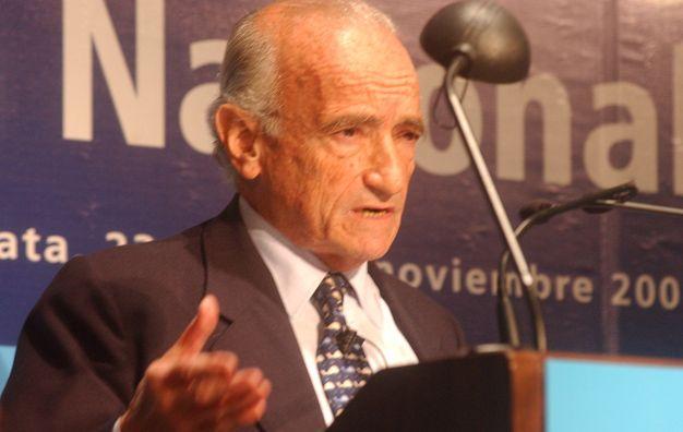 """Expectativas. Aldo Ferrer ve bien un """"ordenamiento"""" de la economía. (foto: Néstor Juncos)"""
