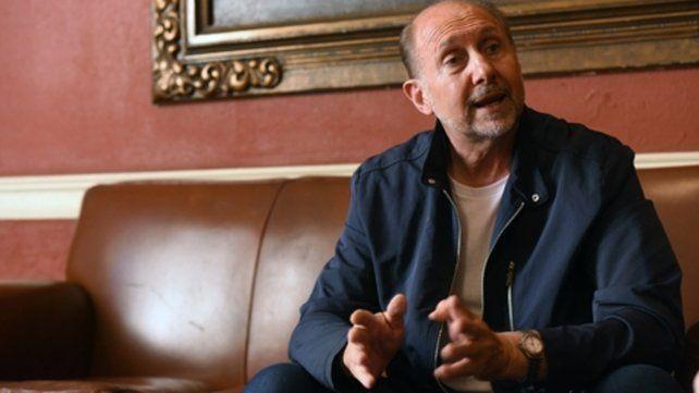 El gobernador electo Omar Perotti no pudo participar de la reunión de mandatarios provinciales que convocó Alberto Fernández.