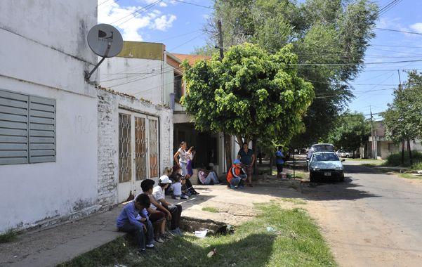 Zona norte. El crimen ocurrió ayer a la madrugada en Machaín al 1900.