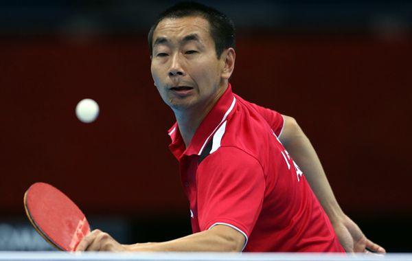 El chino nacionalizado argentino Liu Song avanzó sin problemas en tenis de mesa