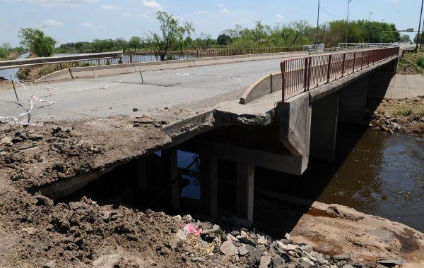El puente sobre la ruta 11