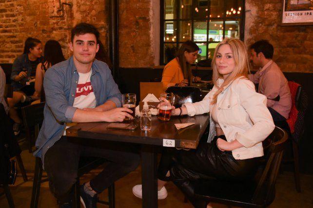 Osvaldo Moris y Camila Seja