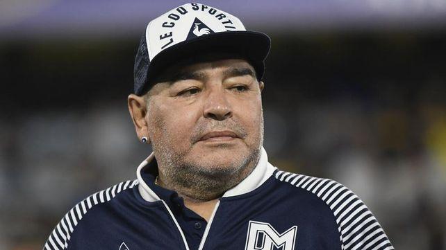 El Diez. Maradona