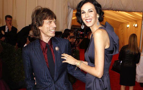 Jagger está completamente conmocionado y destruido por la muerte de su compañera.(Foto de archivo de carácter ilustrativo)