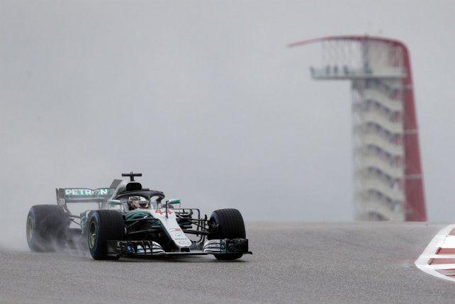 Hamilton va por la corona de la F-1 en Estados Unidos