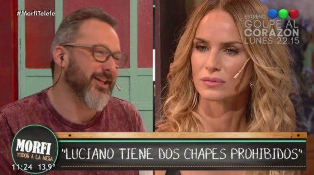 La actriz dialogó con el rosarino Gerardo Rozín en el programa Morfi