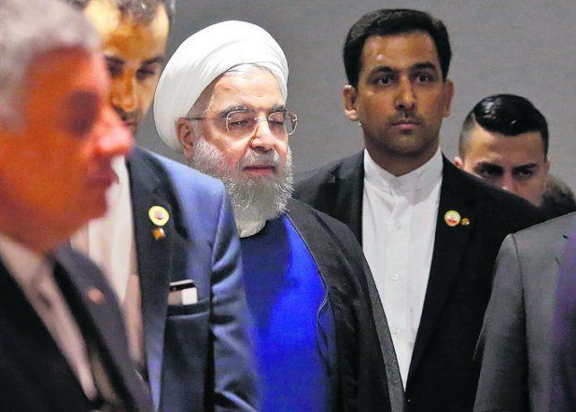 Intransigencia. Rohani descartó renegociar el programa nuclear.