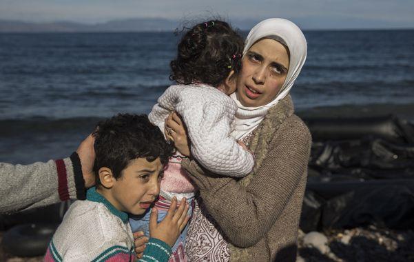 Trauma. Una madre siria y sus hijos
