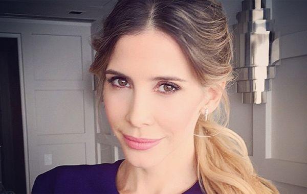 La actriz compartió una foto en Instagram de sus comienzos como modelo.