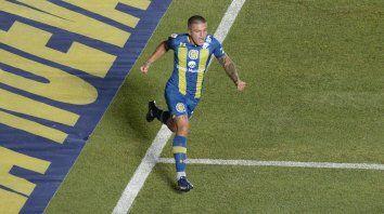 Alan Marinelli viene de convertir frente a Vélez.