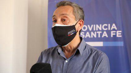 El funcionario de Salud asegura que este nivel de contagiosidad ha puesto en colapso el sistema sanitario la provincia de Santa Fe.