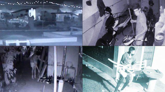 Vecinos de dos manzanas de La Florida tienen grabados a los ladrones que andan por techos y patios.