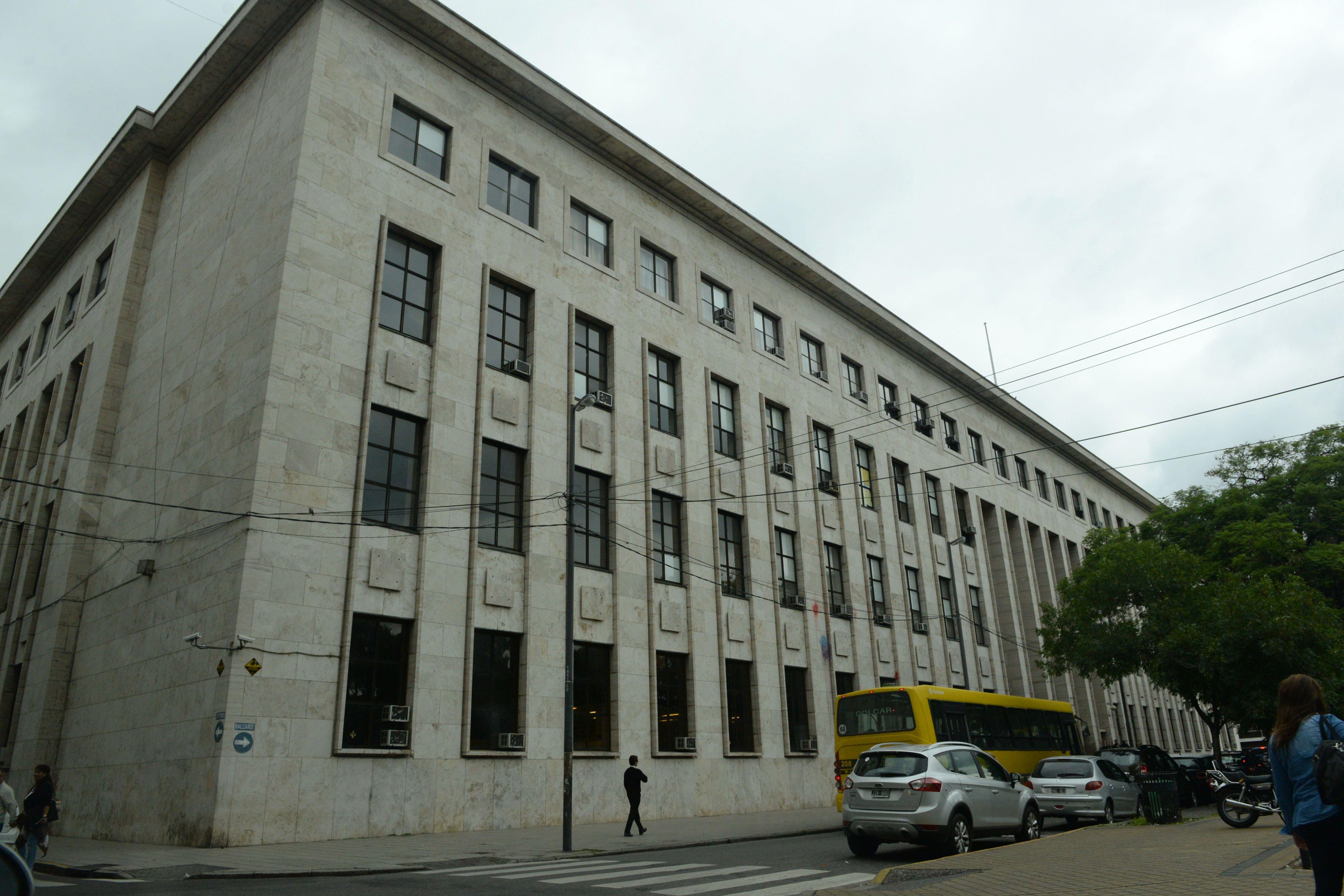 oficina. La Omas funciona en el segundo piso de los Tribunales. Sus integrantes están contratados hasta fin de mes.