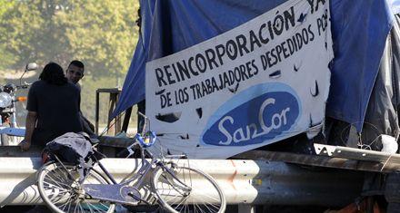 Sancor: sin corte, los trabajadores protestan en el acceso al puente a Victoria