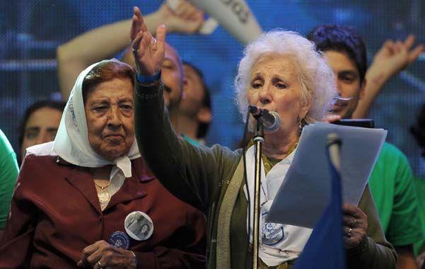 La presidenta de Abuelas de Plaza de Mayo logró recuperar a su nieto
