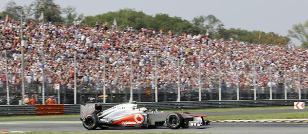En Spa se quejó del favoritismo de McLaren hacia Button tras su pole. Pero ayer el moreno clavó el 1 en Monza. ¿Entonces?