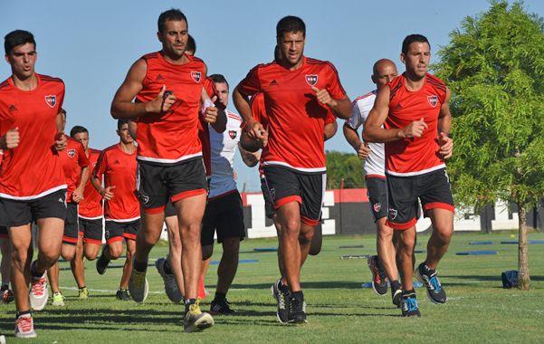 Domínguez entrenó a la par de sus compañeros en Bella Vista. (Foto: M. Bustamante)