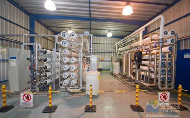 Ultraósmosis. El sistema fue creado por una firma argentina con soporte técnico de una multinacional.