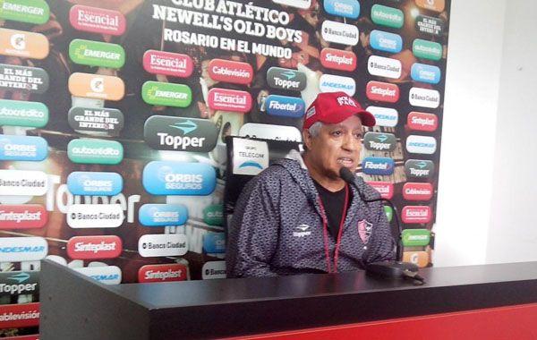 Gallego dio a entender también que Alexis Nicolás Castro será titular y que Maxi jugará.