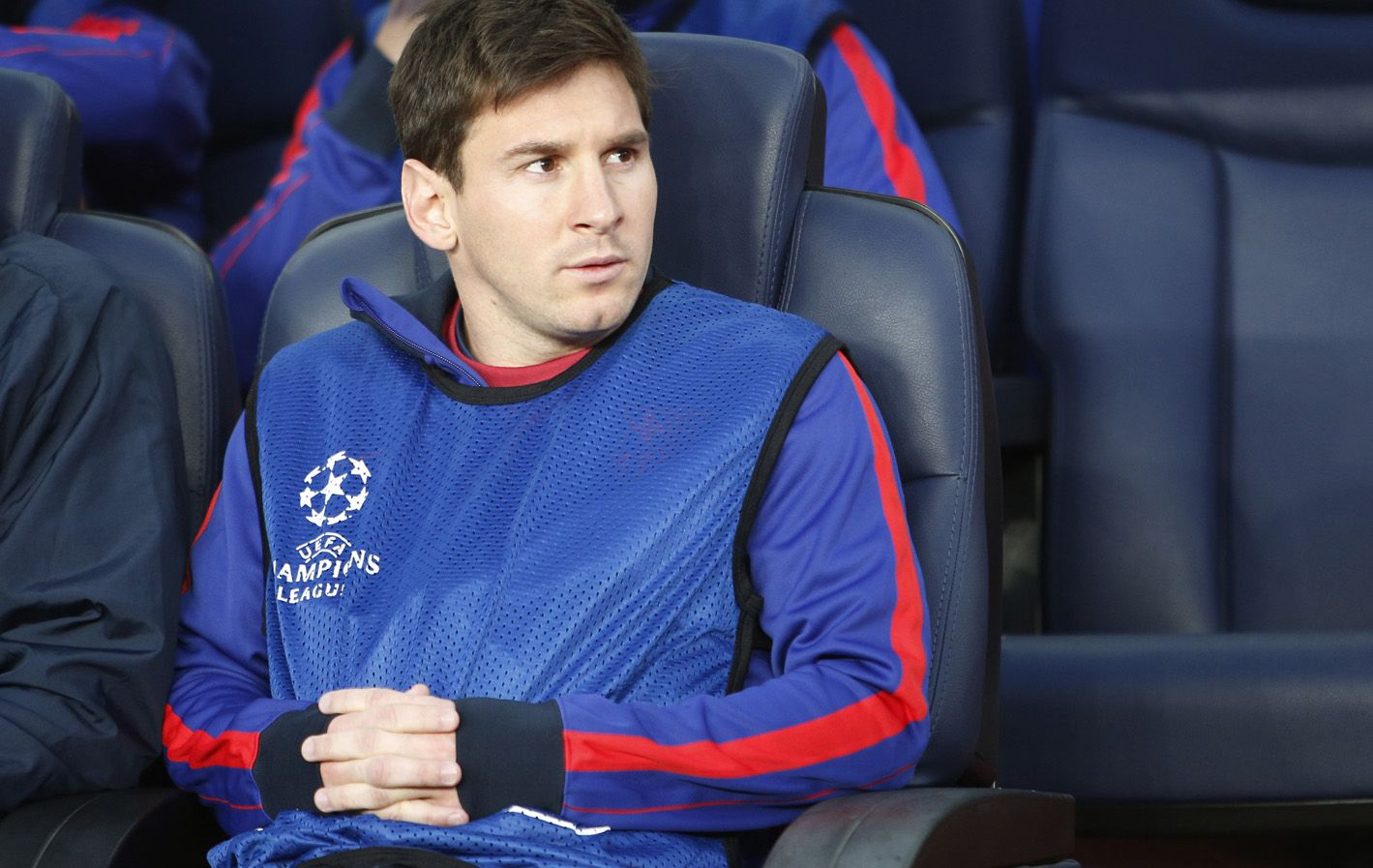 En España todavía se preguntan por qué Lionel Messi no jugó la semifinal frente a Bayern Munich.