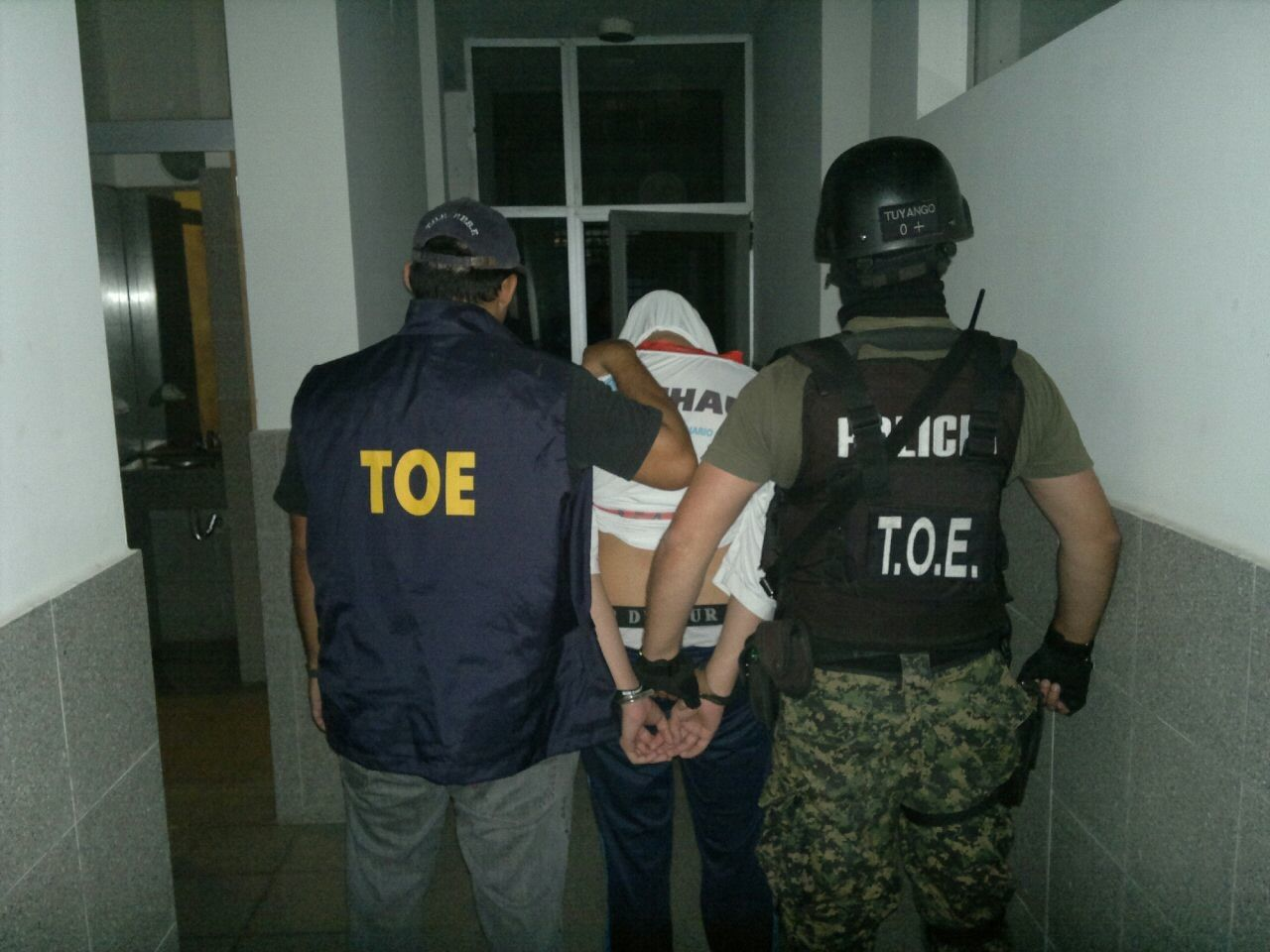 Las TOE lograron detener al presunto autor del doble crimen registrado en las piletas del Saladillo.