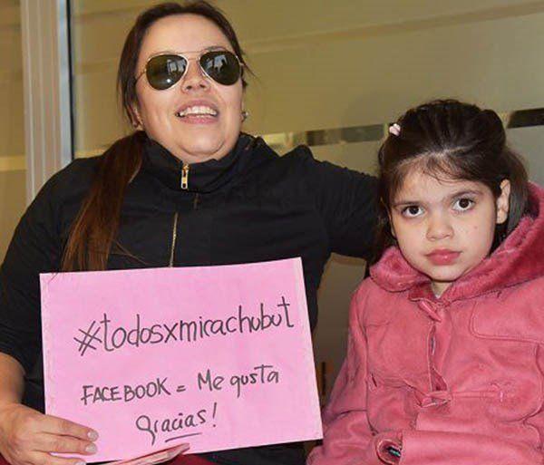 Carola Pedraza y su hija Micaela