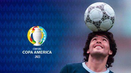 Conmebol anuncia un emotivo homenaje a Maradona en la previa del debut de Argentina