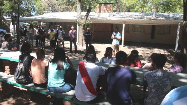 La presentación del programa se realizó en el lunes pasado en el Parque Sarmiento.