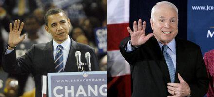 Obama avanzó para ser candidato demócrata y McCain cantó victoria
