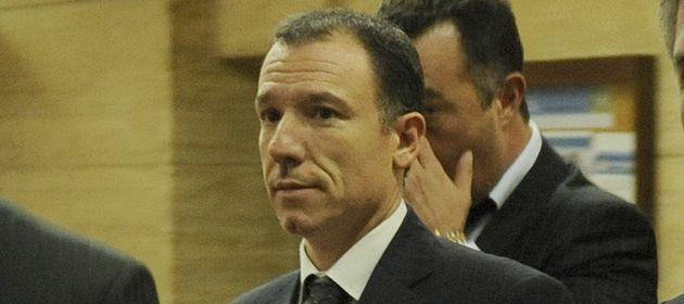 El exjuez Alejandro Martin durante una de las audiencias en Tribunales.