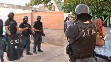 El fiscal Aníbal Vescovo ordenó la detención del presunto motochorro en su casa en Fraga y José Ingenieros.