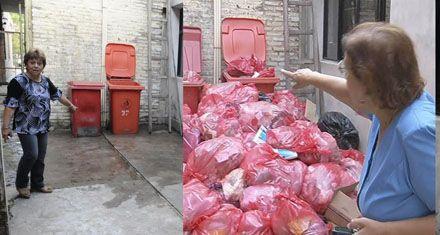 Preocupación en el hospital Gamen por la acumulación de residuos patológicos