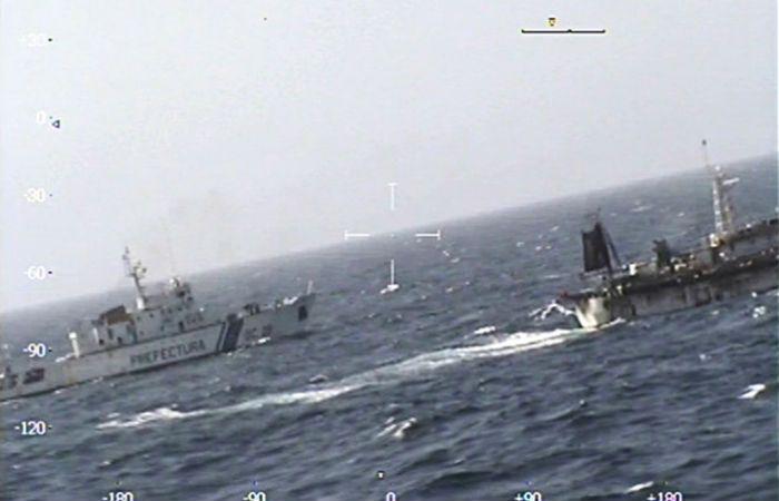 El capitán del barco chino se negó a declarar.