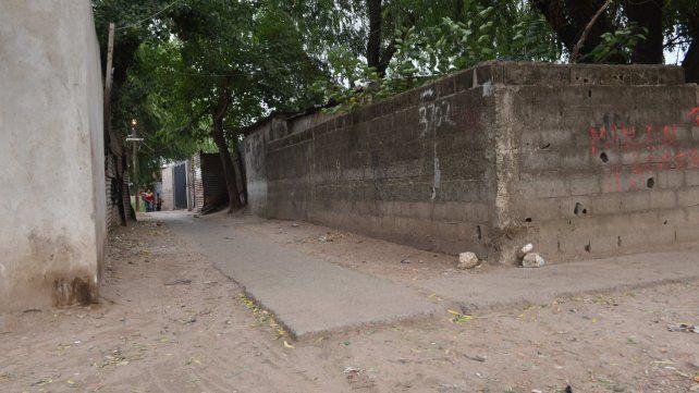 Pasillo mortal. Desde marzo pasado las balaceras causaron cuatro muertes en Manantiales al 3700.