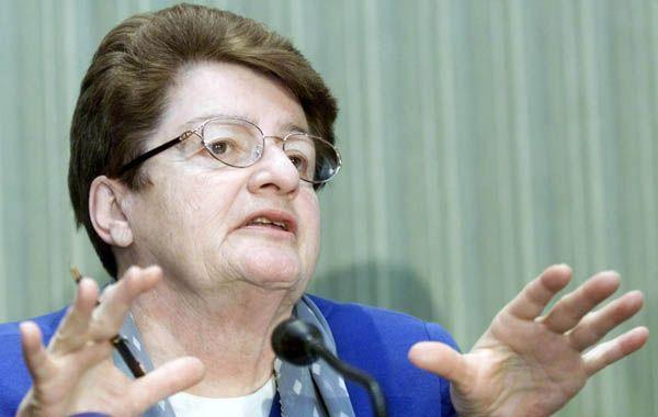 Espanto. La ex directiva del FMI Anne Krueger