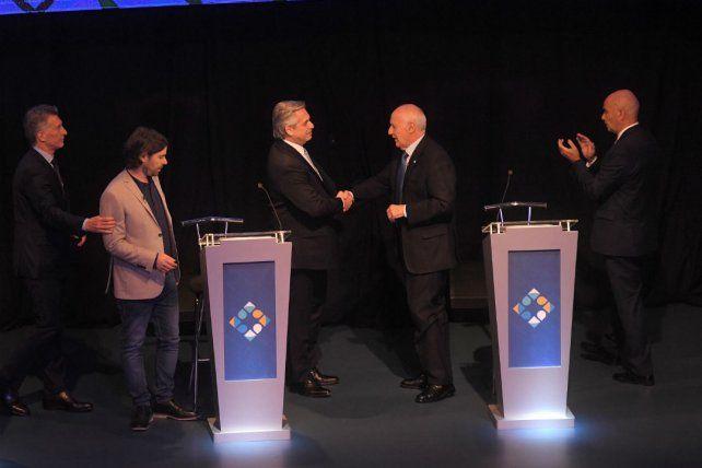 El debate marcó el pulso de la TV y las redes sociales