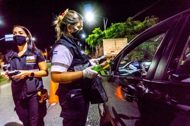 Los agentes detectaron pocos positivos debido a las prohibiciones a la circulación nocturna.