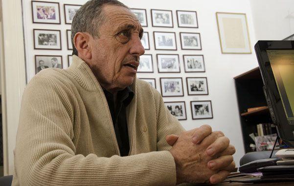 Jorge Obeid vuelve a hacer campaña en Santa Fe tras haber estado dos veces en la Gobernación.