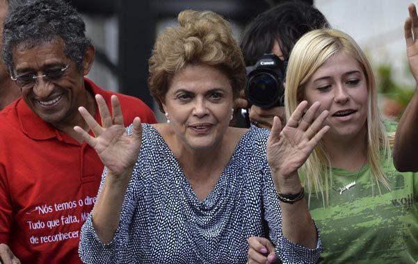 A luchar. Dilma visitó a Lula el domingo. Dejaron sus diferencias de lado. (NA)