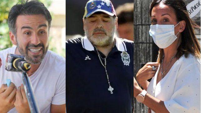 Peritan los celulares del médico y la psiquiatra que atendieron a Maradona