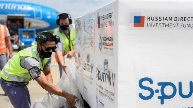 Argentina cuenta con 800 mil dosis de la vacuna Sputnik V