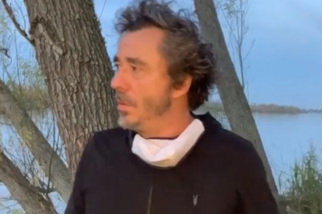 Pablo Branados pidió que se terminen los incendios en las islas.