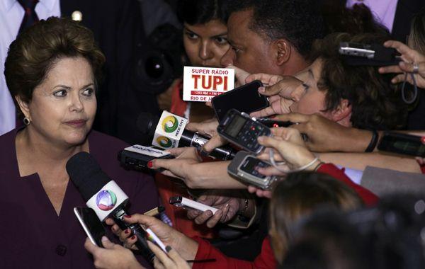 Respiro. Los brasileños vuelven a confiar en Dilma a medida en que ceden las preocupaciones inflacionarias.