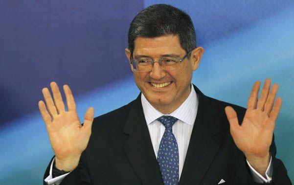 aquí estoy. Joaquim Levy durante su primera conferencia de prensa como ministro designado.