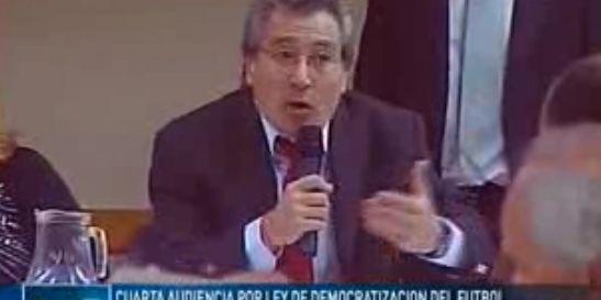 Dirigentes grondonistas no dejaron que Daniel Vila exponga en Diputados