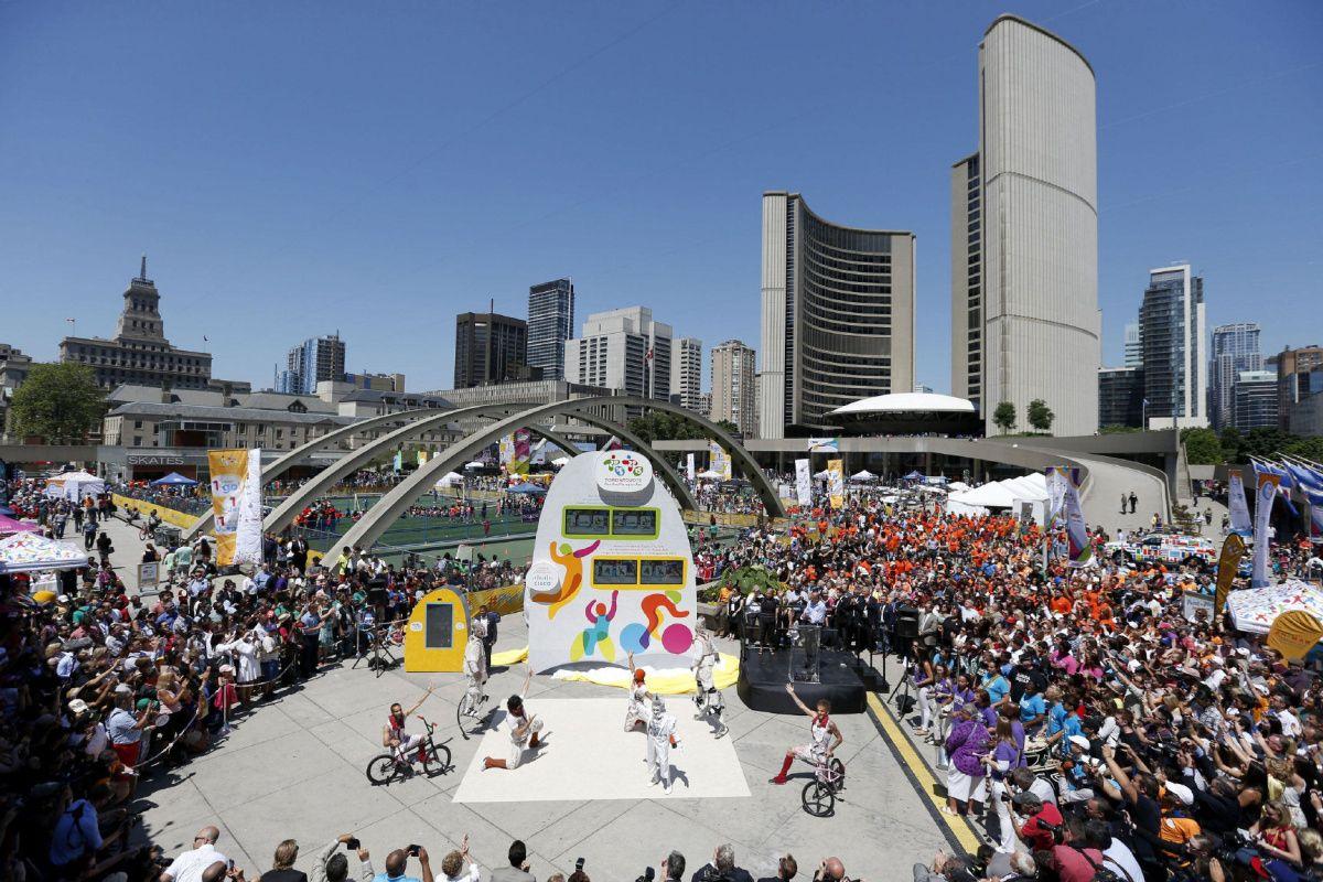 Toronto espera tener unos Juegos Panamericanos inolvidables.