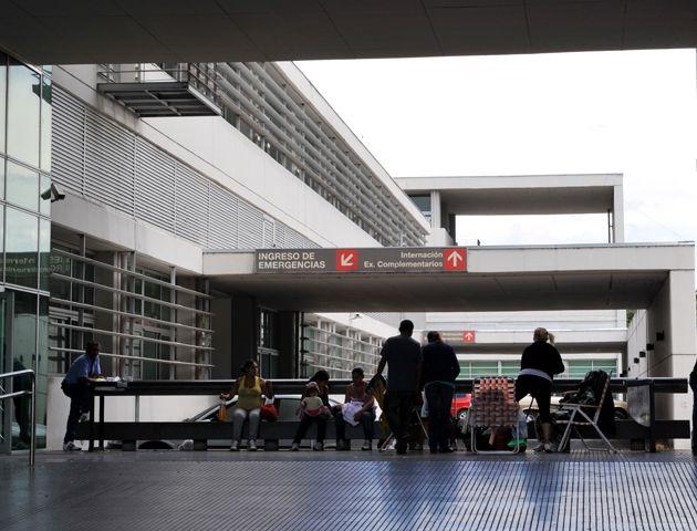 El asaltante quedó internado en el Hospital Clemente Alvarez. (Foto de archivo)-