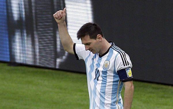 Lionel Messi pensó en renunciar a la selección. Pero no lo hará y piensa en los próximos compromisos con la albiceleste.